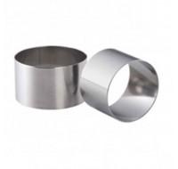 Δαχτυλίδι CHEF ανοξείδωτο 8 εκ. σετ 2τεμ.
