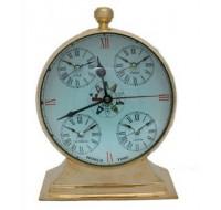 Μπρούντζινο επιτραπέζιο ρολόι