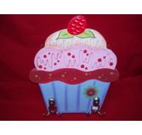 Κρεμάστρα τοίχου Cupcake